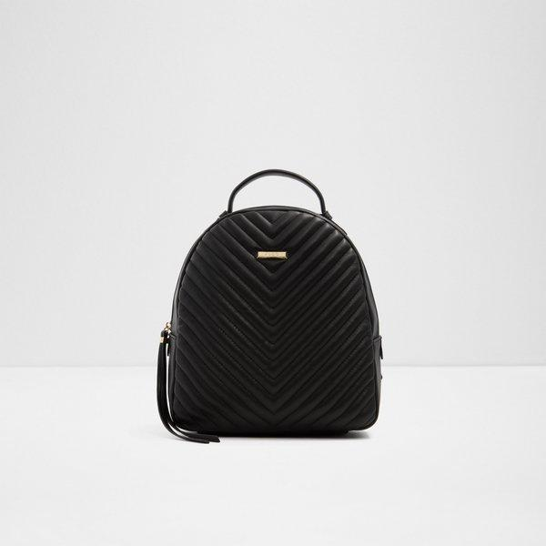 [SALE] Aldo Adrewien Women Trendy Fashionable Quilted Backpack Handbag Black