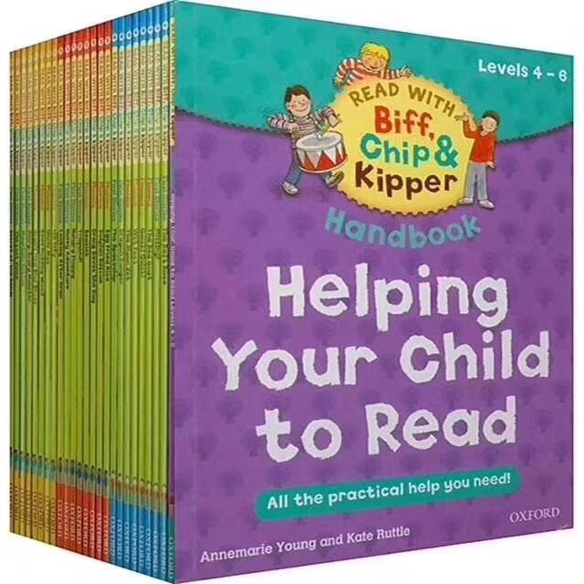 Level 4-6 Oxford reading tree Helping your child read story books(25 books c1 c2)