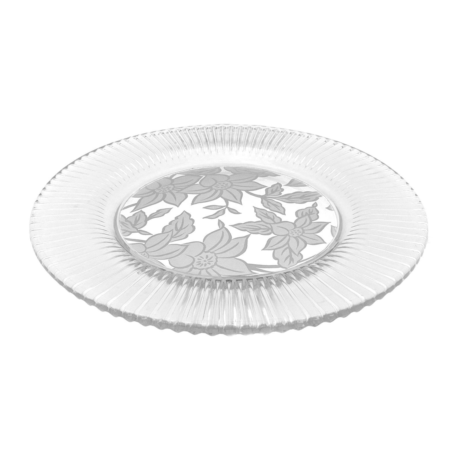 Soga Diamond Fire Eden Glass Plate 23 CM
