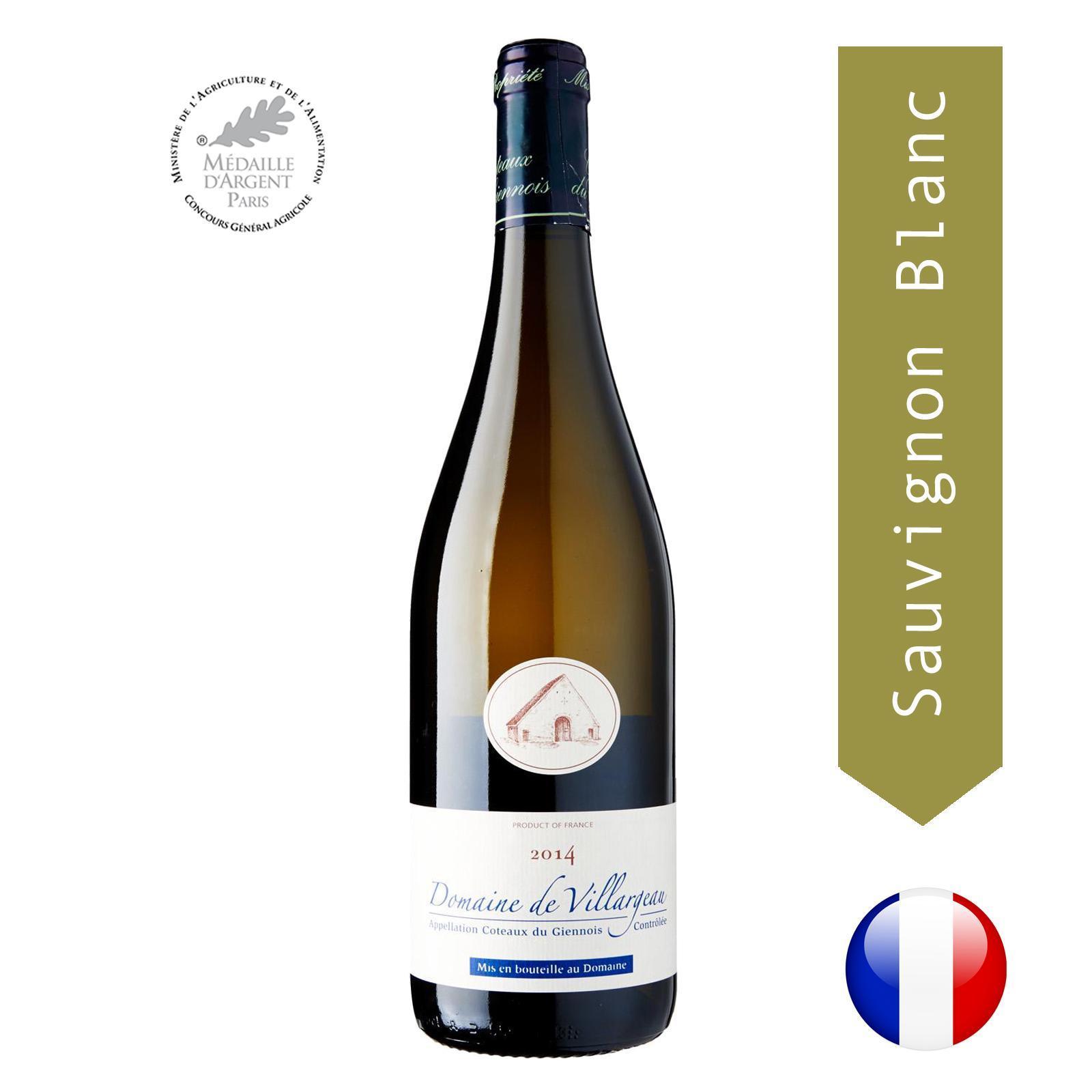 Domaine De Villargeau - Sauvignon Blanc - By The Vintage Wine Club