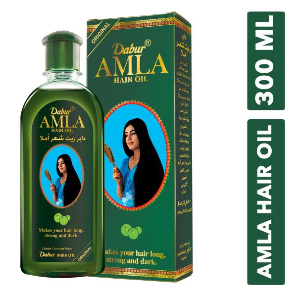 Buy Dabur Amla Hair Oil, 300ml Makes Your Hair Long, Strong & Dark Singapore