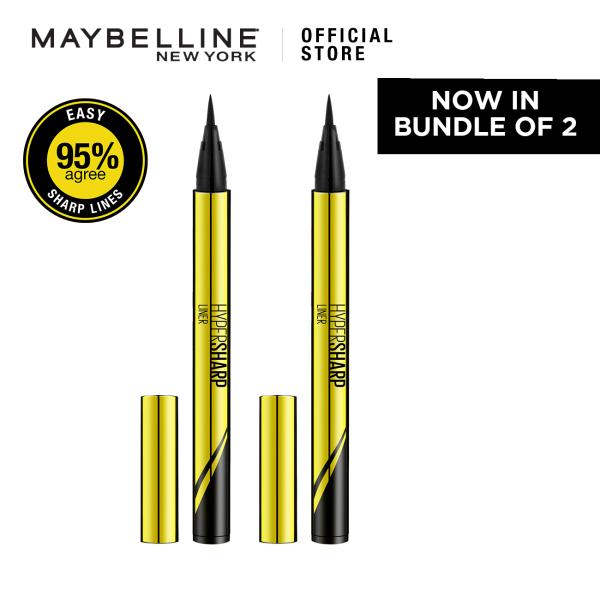 Buy [Bundle of 2] Maybelline Hypersharp Eyeliner 0.01mm Intense Black Singapore