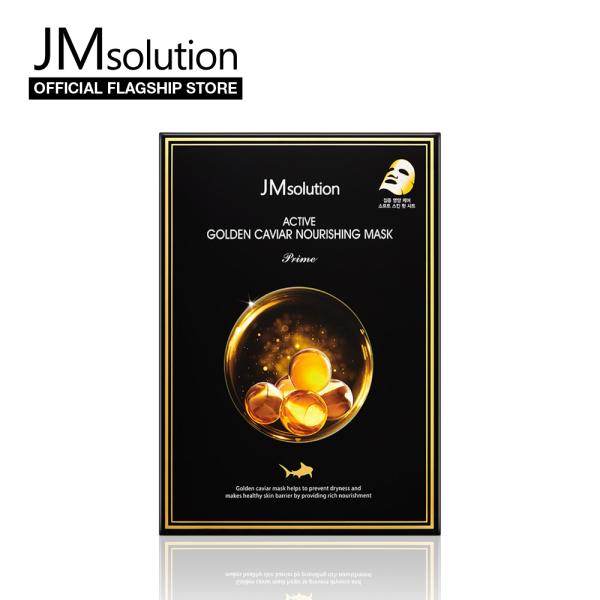Buy JMsolution Active Golden Caviar Nourishing Mask 30ml (10pcs) - Korean Facial Mask Singapore