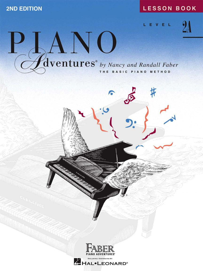 Piano Adventures Level 2A – Lesson Book – 2nd Edition