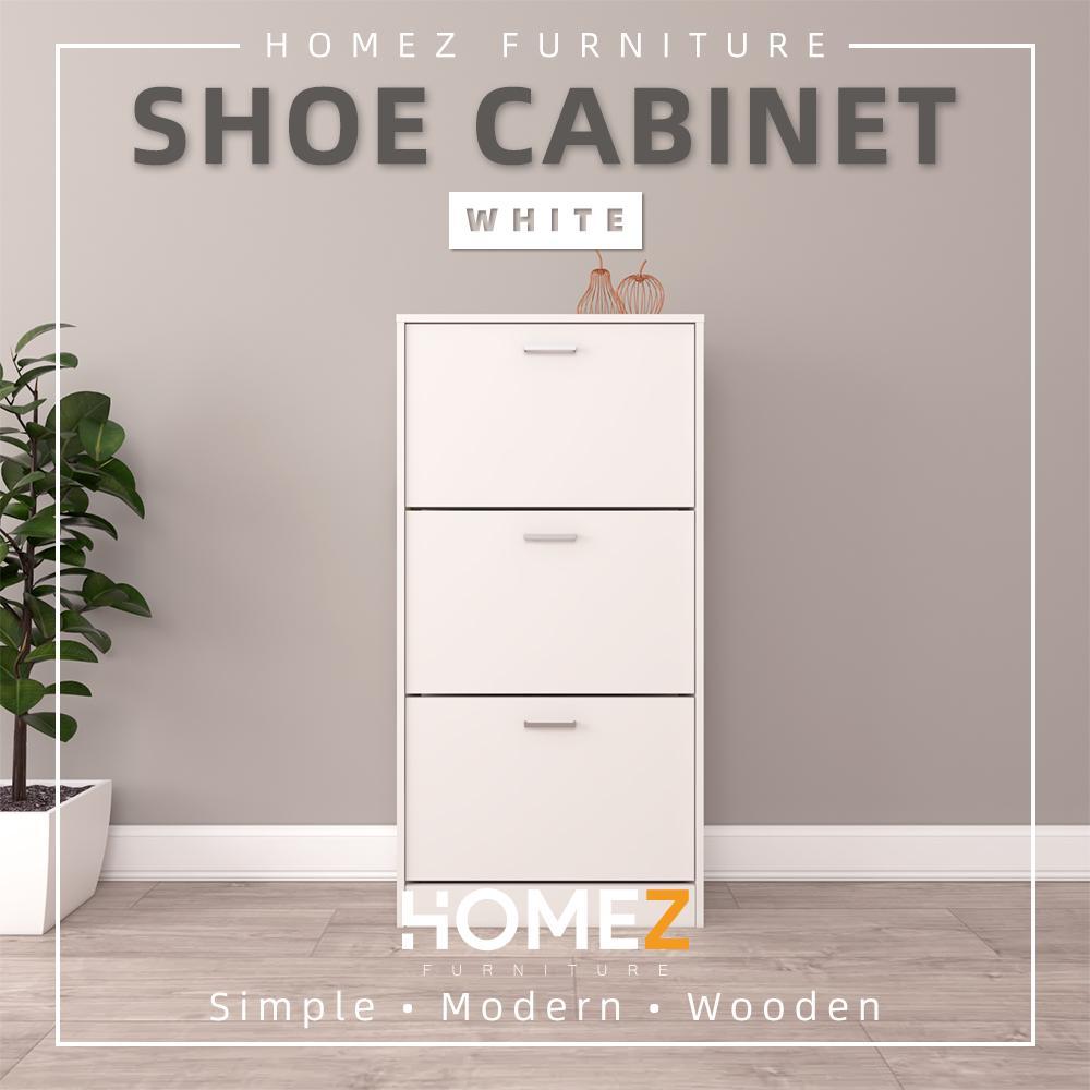 Homez Shoe Rack Cabinet / Premium Wooden Shoe Cabinet HMZ-FN-SR-3001