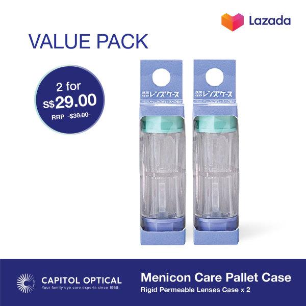 Buy Menicon Care Pallet Case (2 pack) Singapore