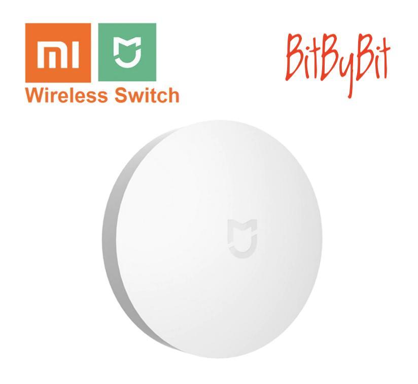 Xiaomi Wireless Switch - Xiaomi Mijia Wireless Switch Smart Home Automation  Works with Mi Home WXKG01LM