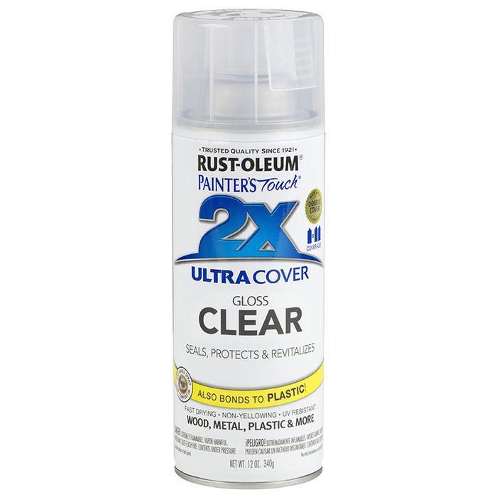 Rust-Oleum Ultra Cover 2X Spray Paint 12oz (Gloss Clear) RustOleum