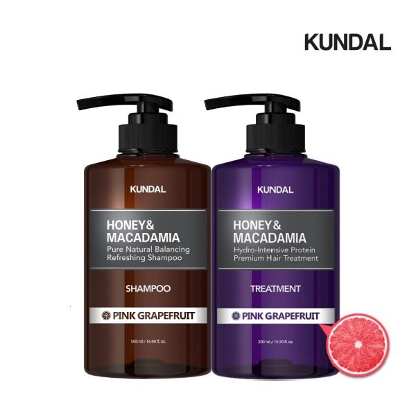Buy [Bundle of 2] Kundal Premium Perfume Hair Care SET(2ea) Shampoo+Treatment Pink Grapefruit Singapore