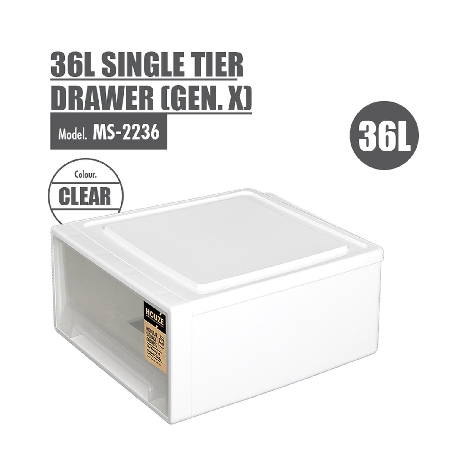 HOUZE 36L Single Tier Drawer
