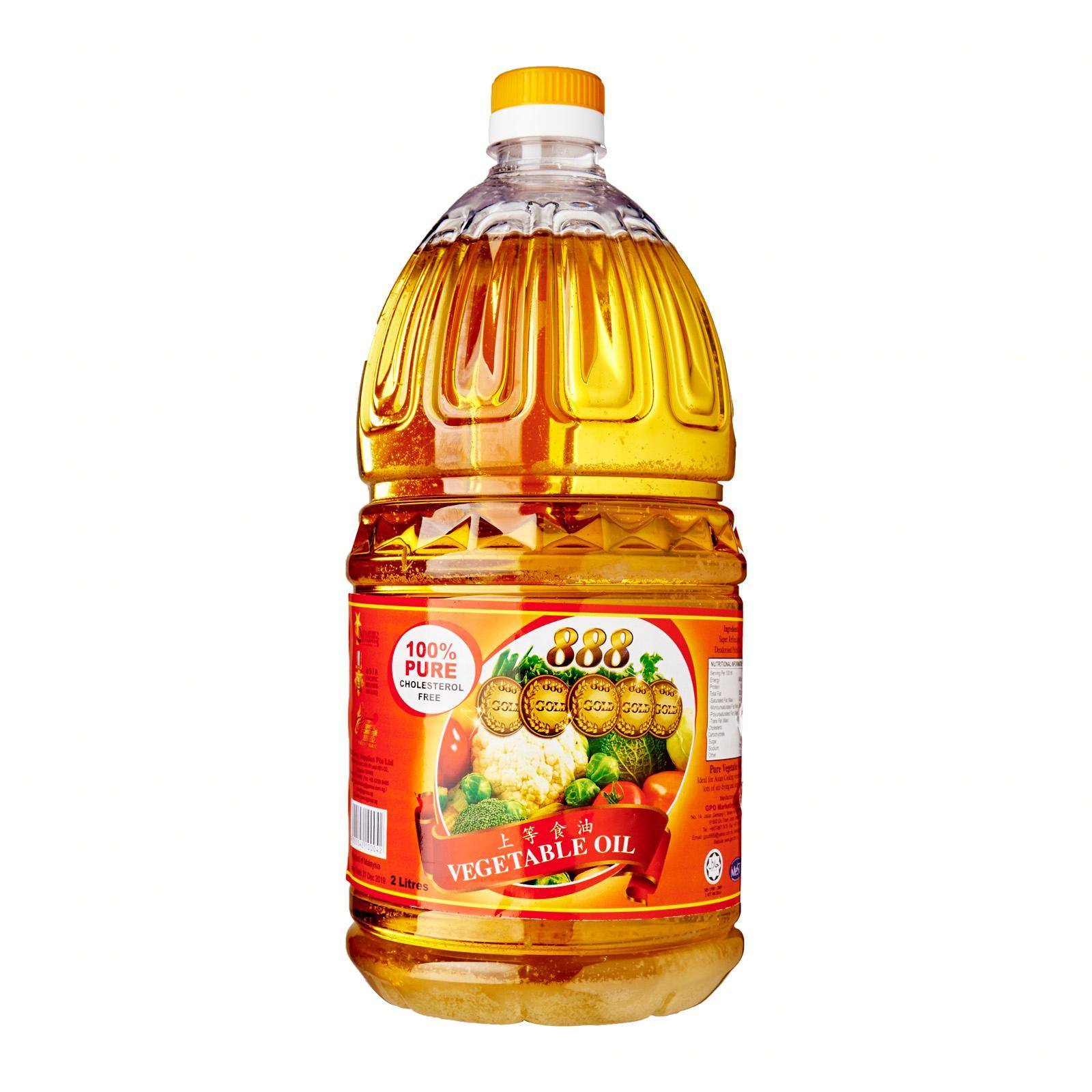 888 Vegetable Oil (2l) By Redmart.