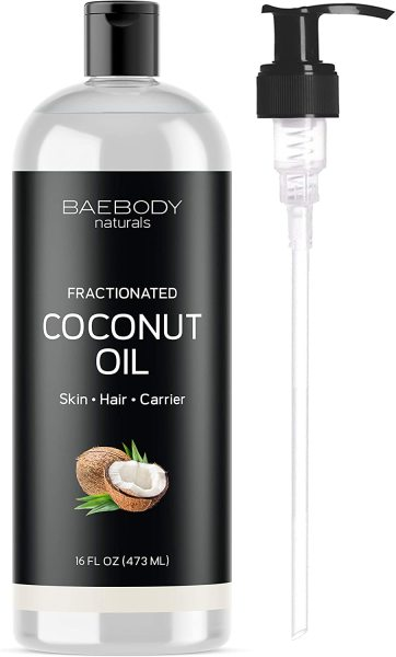 Buy Baebody Naturals Fractionated Coconut Oil, 16 Ounces Singapore