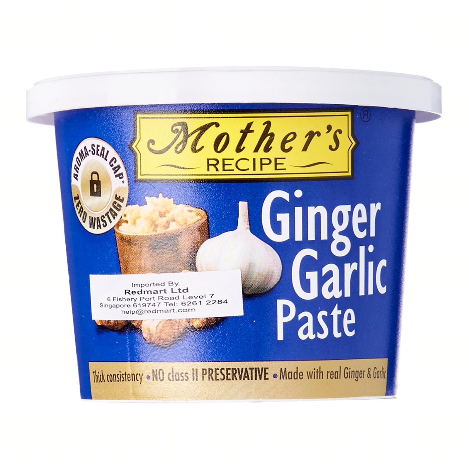Mothers Ginger Garlic Paste