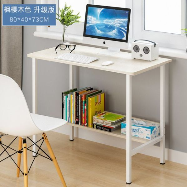 Computer Desk Desktop Table Student Household Desk Simple Double Office Table Economical Bedroom Simplicity Small Table