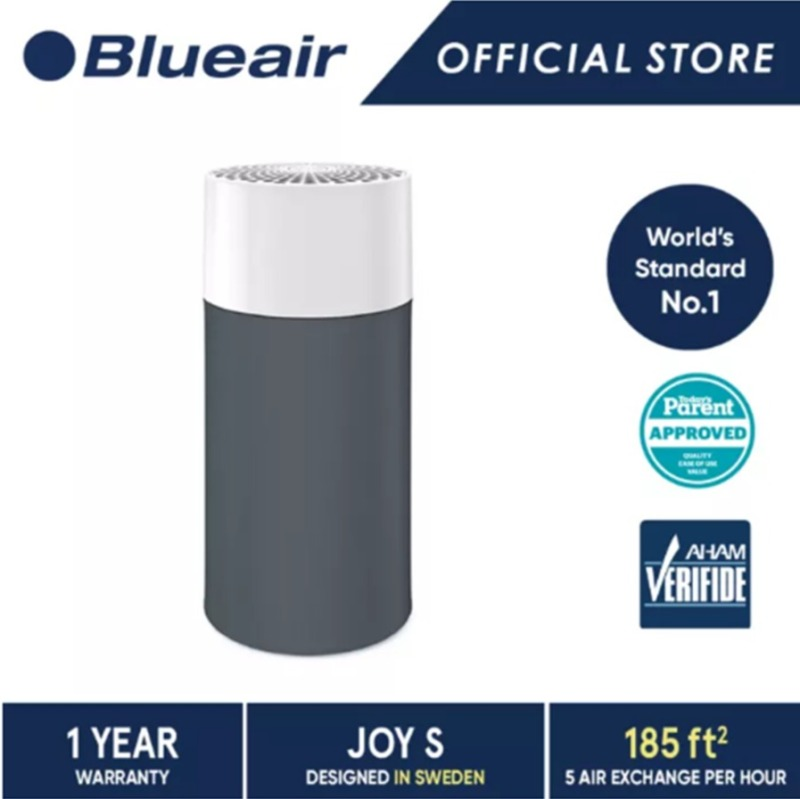 Blueair Joy S with Particle + Carbon Filter (with Dark Shadow Prefilter) Singapore