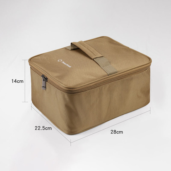 Thous Winds Multifunctional Storage Bag Outdoor Stove Lamps Tableware Gas Tank Wear-Resistant Storage Bag Buggy Bag
