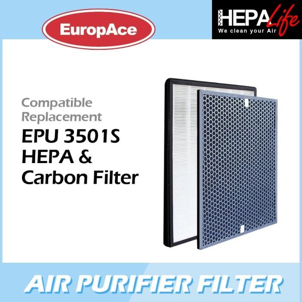 EUROPACE EPU 3501S Compatible Hepa and Carbon Filter - Hepalife Singapore