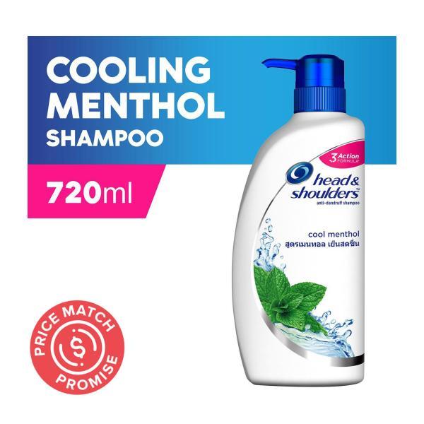 Buy Head & Shoulders Cool Menthol Anti-Dandruff Shampoo 720ml Singapore