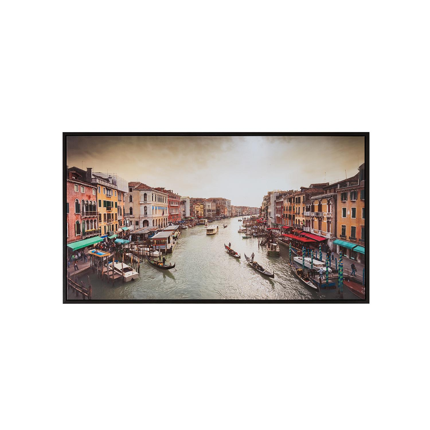 Canvas Hand-Painted Venice Wall Art