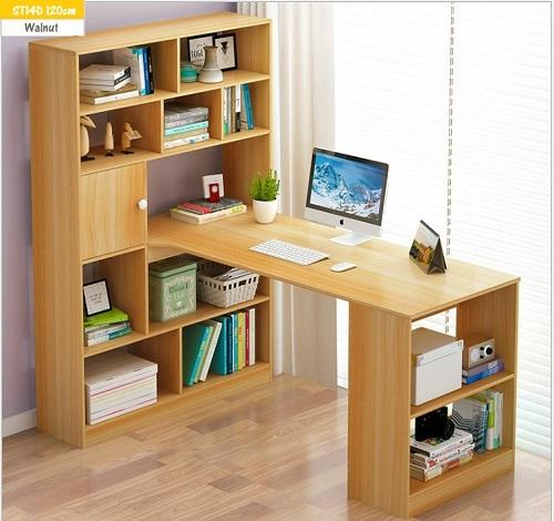 Study Table with Shelves - ST14D