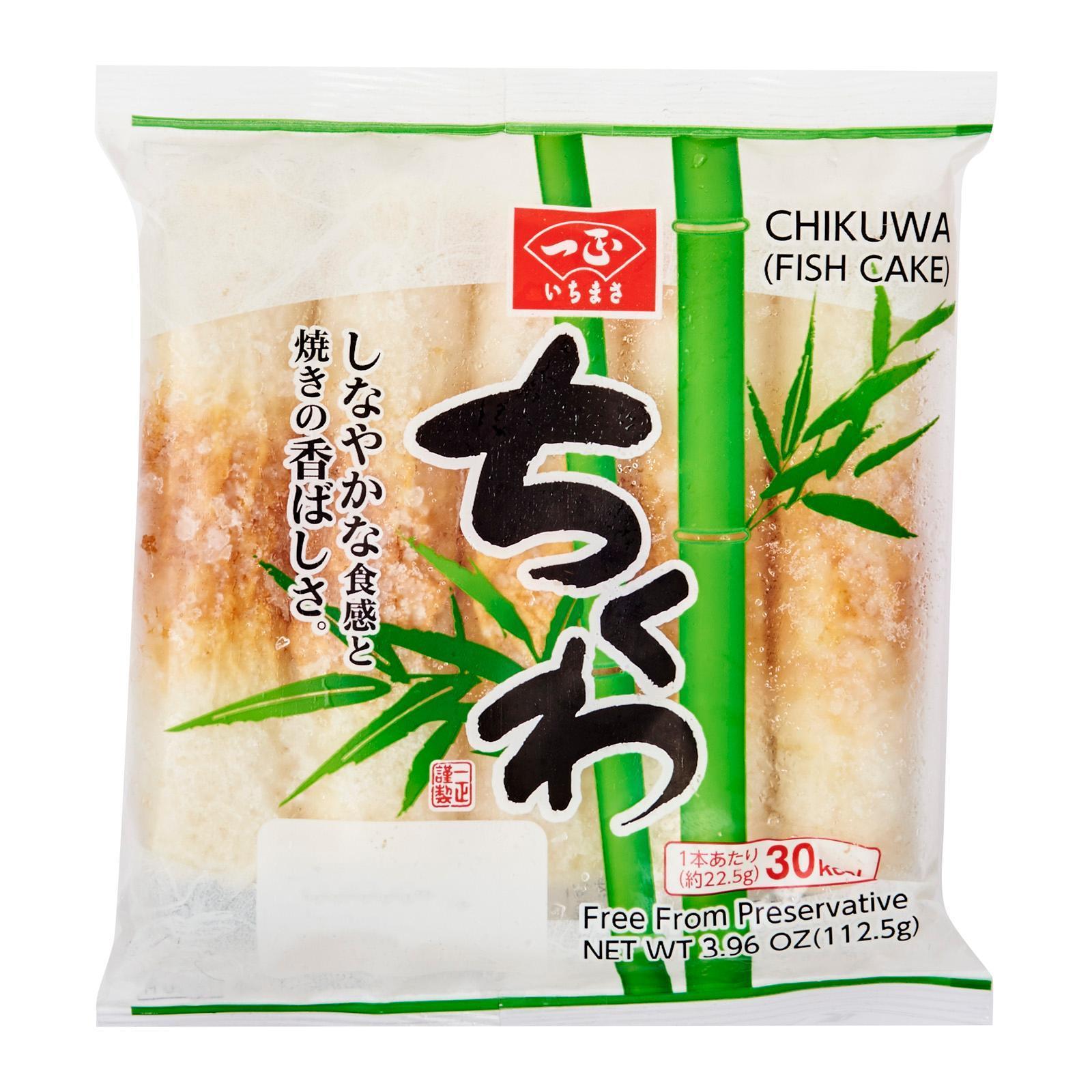Ichimasa Kamaboko Chikuwa Japanese Fish Cakes - Frozen - Kirei