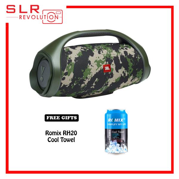 JBL Boombox 2 Loudest Portable Bluetooth Speaker [Free Romix RH20 Cool Towel] Singapore