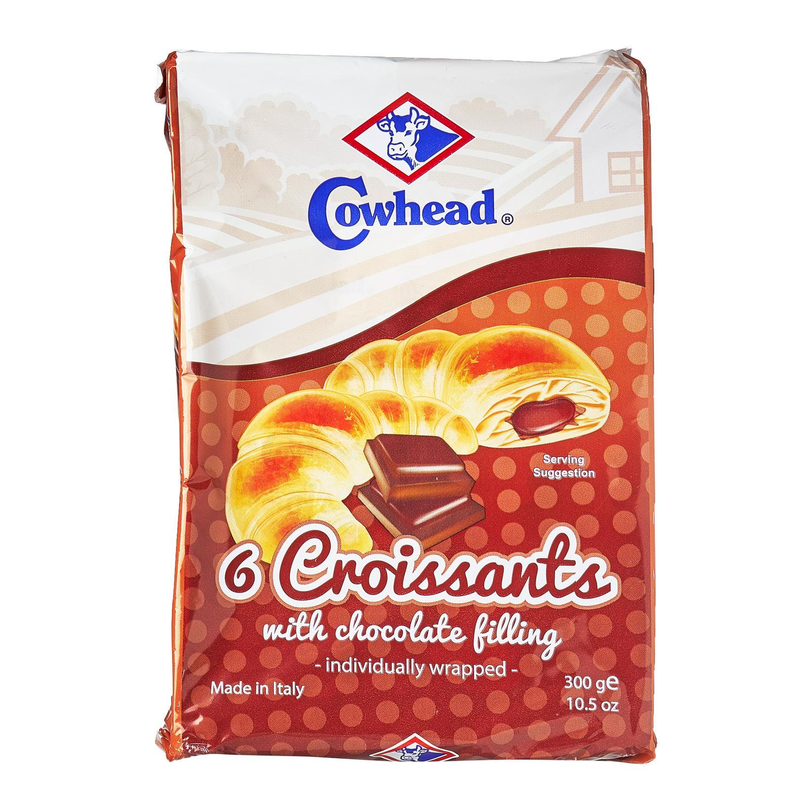Cowhead Crossiant With Chocolate Cream Fillings