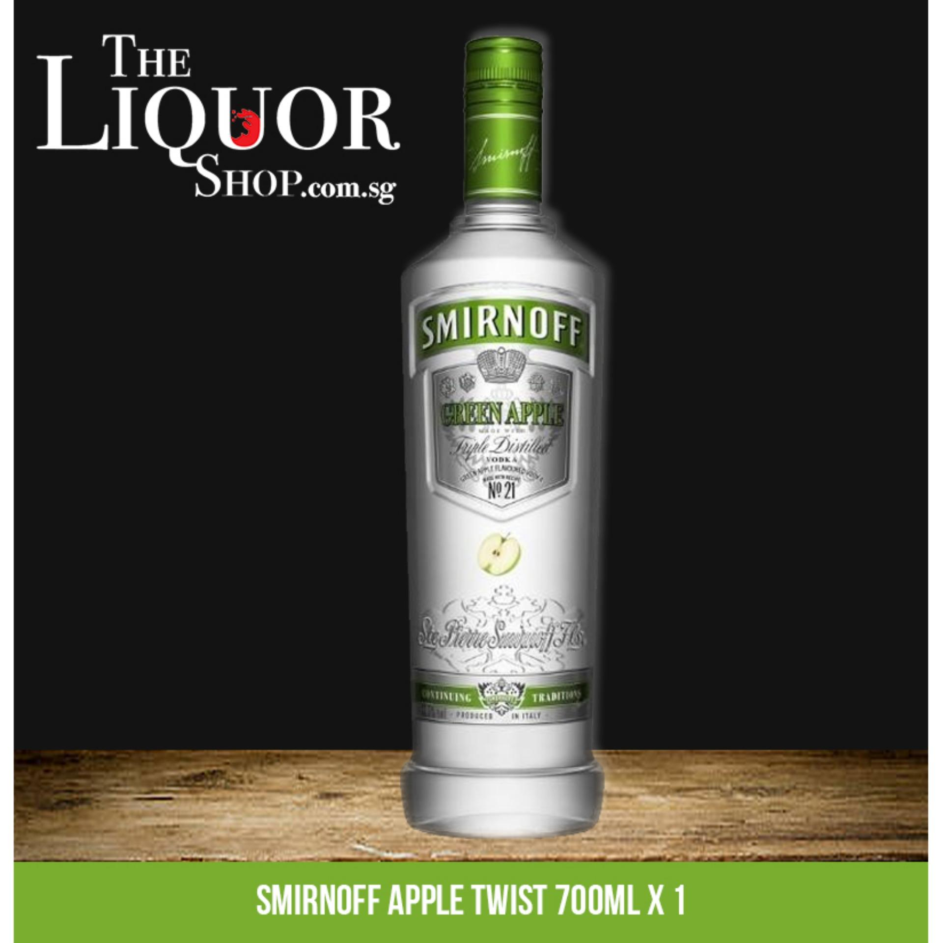 Smirnoff Apple Twist 700ml X 1 By The Liquor Shop.