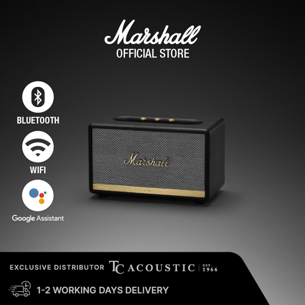 Marshall Acton II Voice Wireless Bluetooth Speaker with Google Assistant Singapore