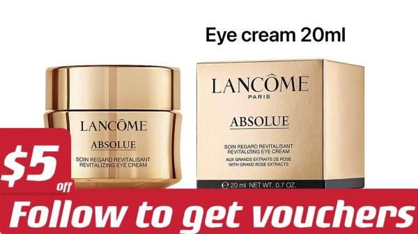 Buy Lancome Absolue Revitalizing Eye Cream 20ml - [ Lancôme | luxury skincare | Brand new 100% authentic ] Singapore