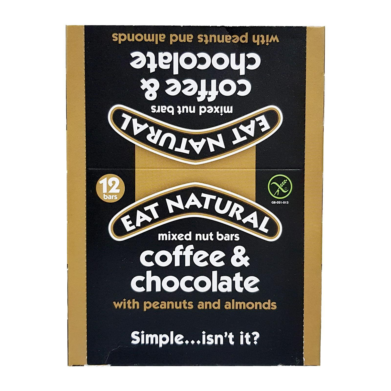 Eat Natural Coffee Chocolate Peanut And Almond Bar - By Wholesome Harvest