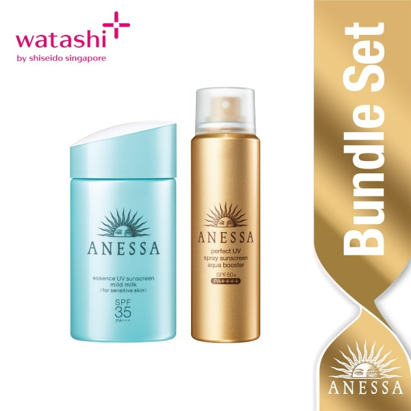 Buy Anessa Daily On-the-Go Essence Mild Set Singapore