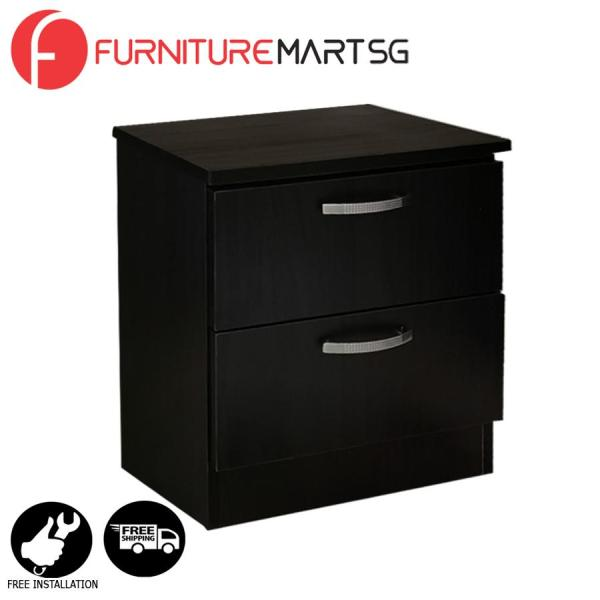 [FurnitureMartSG] Dexon 2 Side Table in Wenge FREE DELIVERY + FREE INSTALLATION
