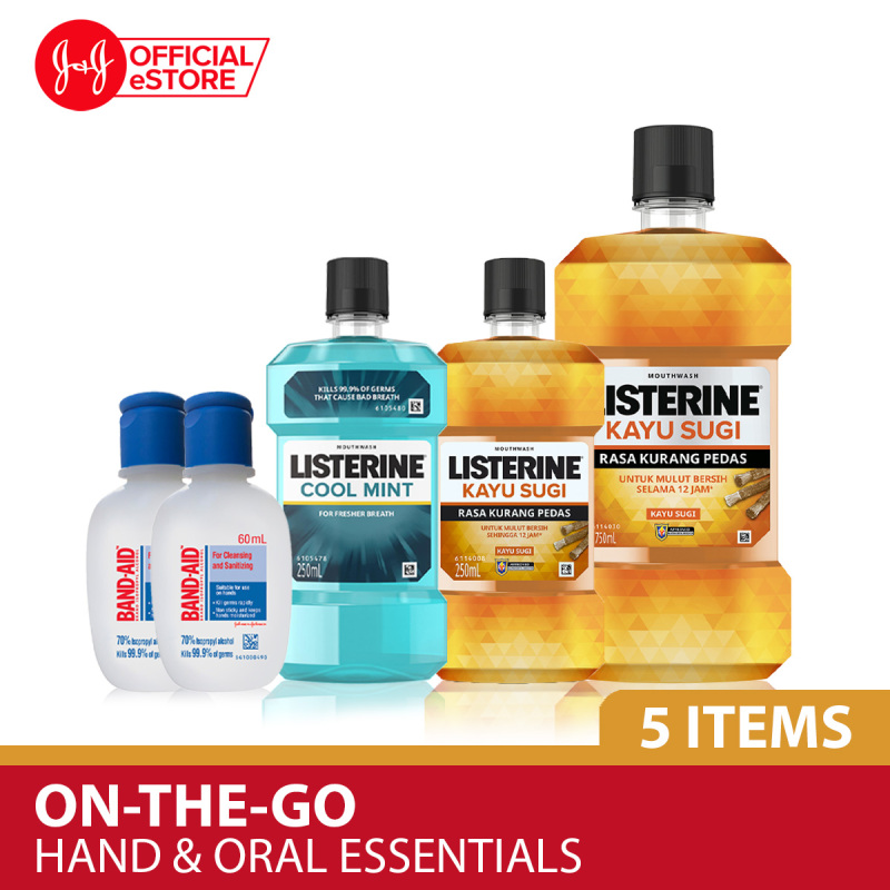 Buy Essential On-The-Go Hand Sanitize and Oral Rinse Singapore