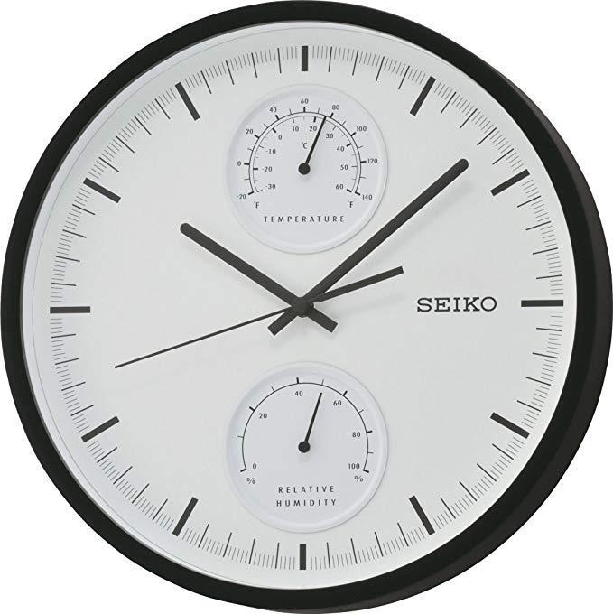 Seiko QXA525K Quiet sweep second hand Wall Clock