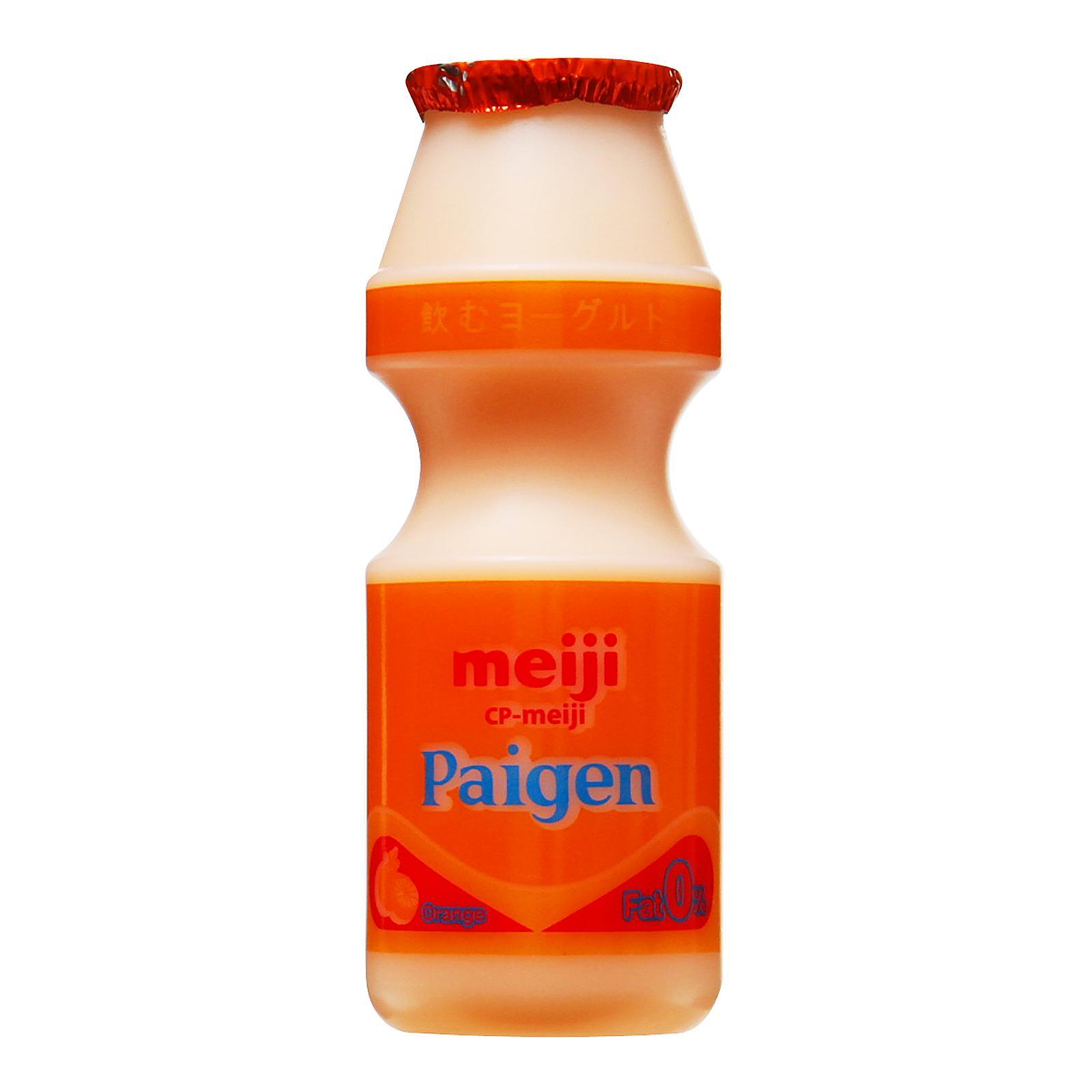 Meiji Paigen Culture Milk Orange Flavour