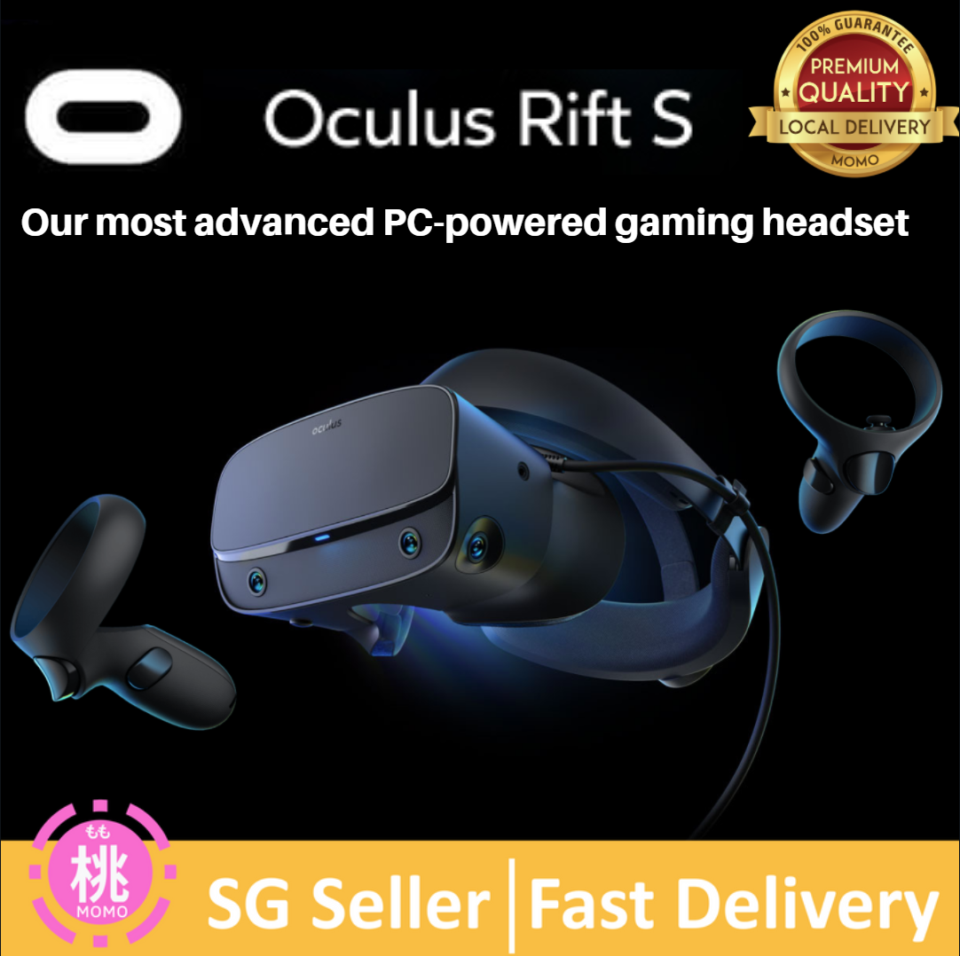 Oculus Rift S Pc Powered Vr Gaming Headset Virtual Reality Headset.