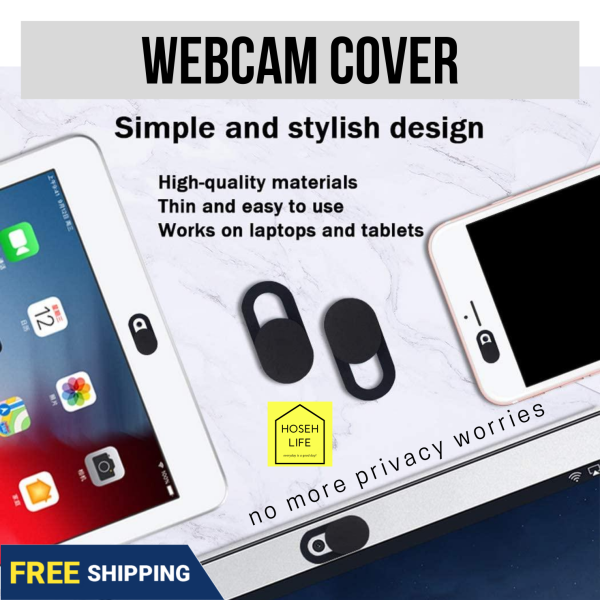 [SG Instock] Camera Privacy window WebCam Cover Shutter Slider Plastic Universal Antispy Camera Cover For phones Laptop iPad PC Macbook phone Privacy Sticker self adhesive, anti voyeur / prevent zombie computers spying | rare ROSE GOLD color