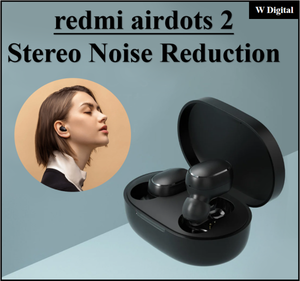 Xiaomi Redmi Airdots 2 TWS Earphone Wireless Bluetooth 5.0 Stereo Noise Reduction Mic Voice Control Singapore