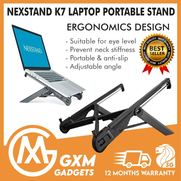 NEXSTAND™ K7 Foldable Adjustble Portable Laptop Stand MacBook Notebook Computer Tablet Stand iPad Stand Holder