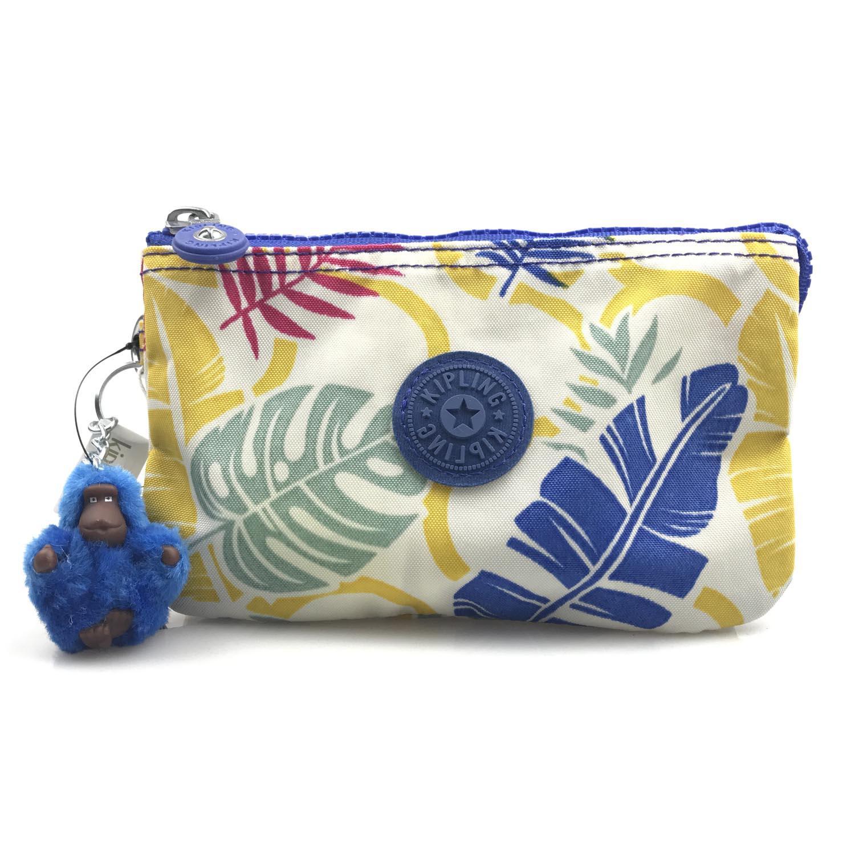 Kipling Creativity L Nylon Wallet Purse Cosmetic Pouch with Wristlet (Urban Garden 02K) - intl