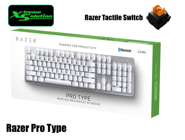 Razer Pro Type - Quiet Mechanical Keyboard For Typing Singapore