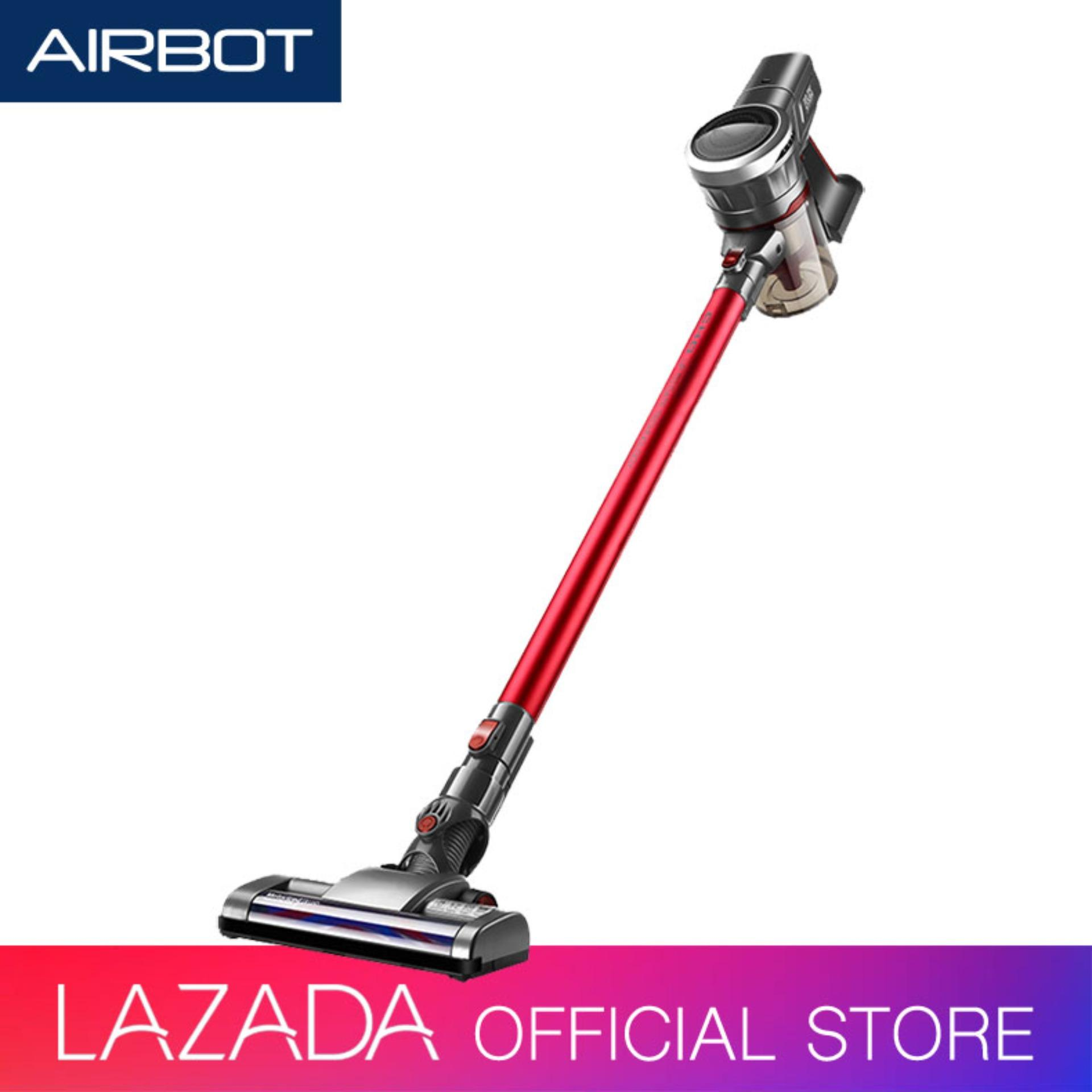 Airbot Supersonics Fluffy Cordless Vacuum Cleaner Stick Handheld Mode For Floor Car Carpet Sofa Mattress Curtain Keyboard ( 6 Months Warranty ) By Airbot Certified Store.