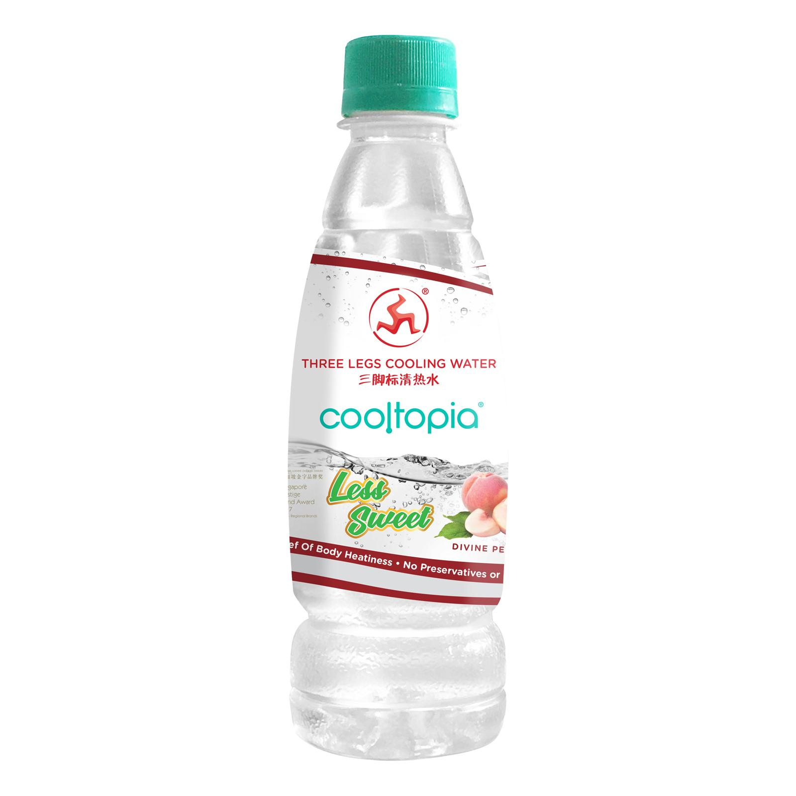 Three Legs Cooltopia Divine Peach Cooling Water