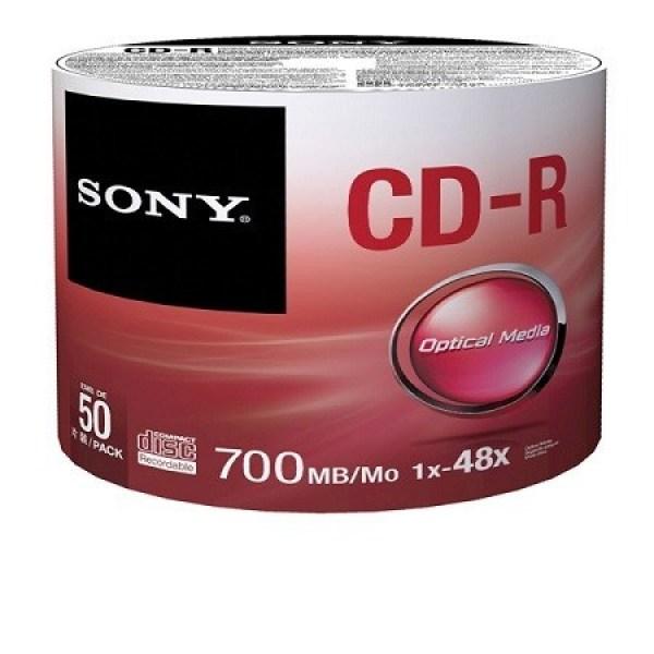 [SG] Sony DVD-R (4.7GB) / CD-R (700MB) 50 pieces Printable Full Surface Printing