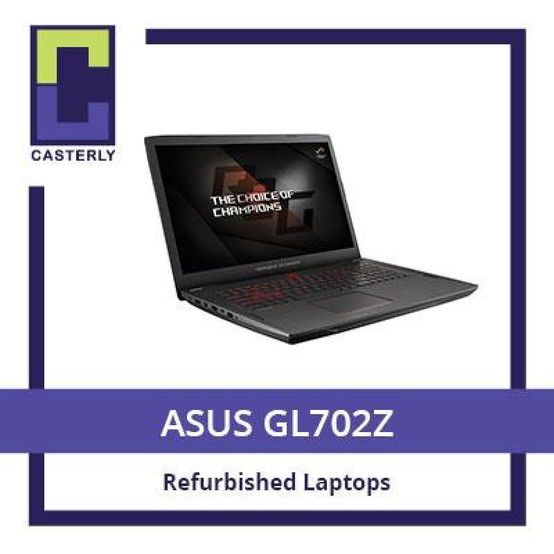 [Refurbished] ASUS GL702Z / AMD / 16GB / 256GBSSD + 1TB HDD / RADEON RX580 / 3 Months Warranty