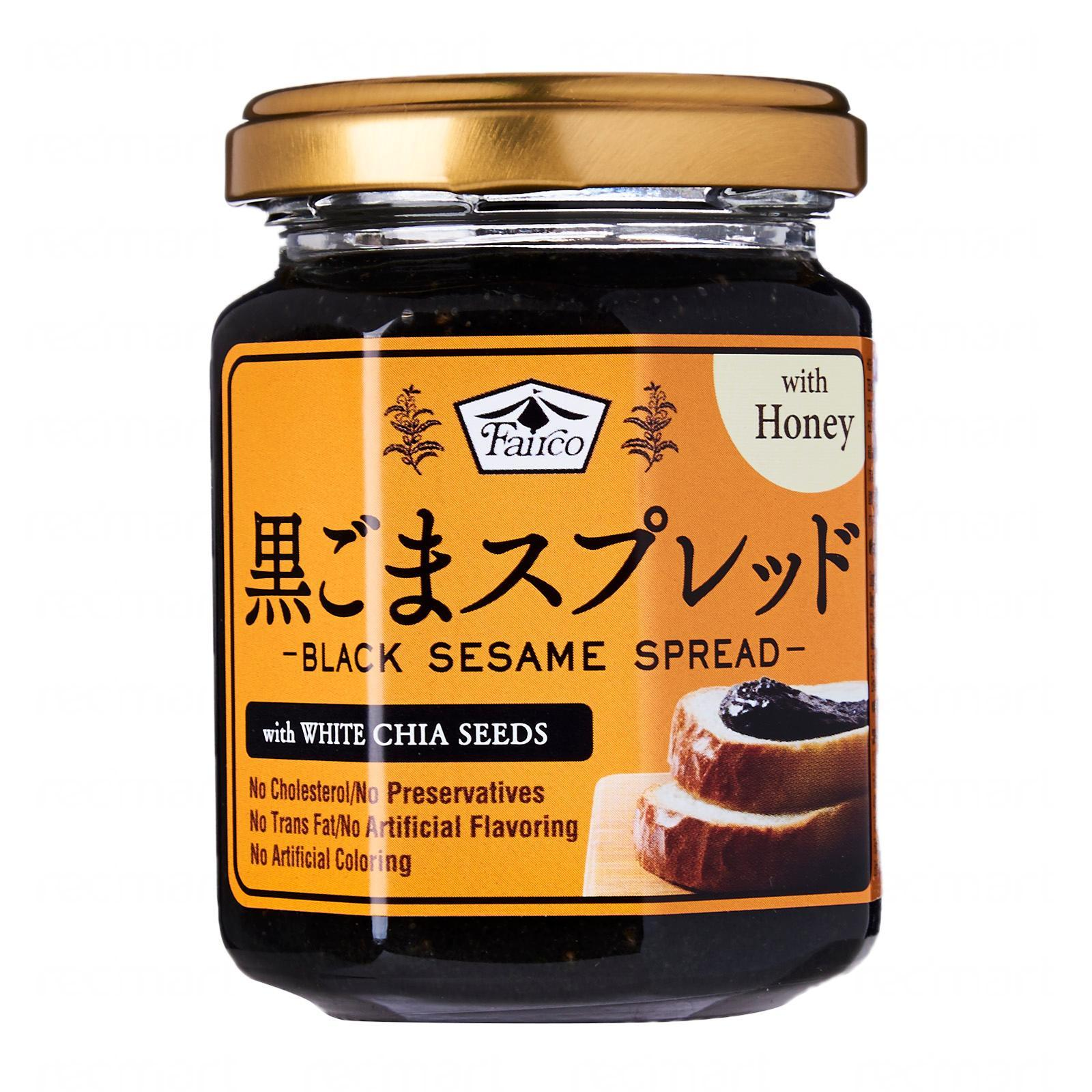 Fairco Premium Black Sesame Spread (W/White Chia Seeds And Honey)