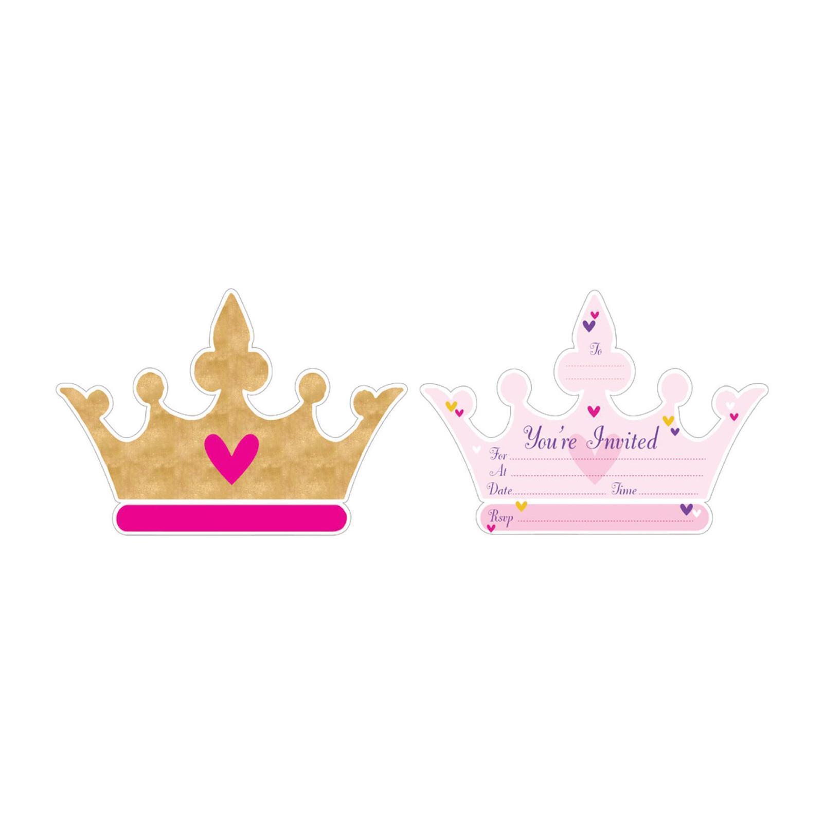 Artwrap Party Invitation - Princess
