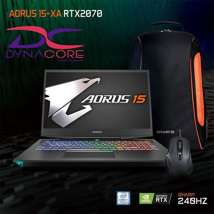 Gigabyte AORUS 15 XA FHD 240hz 15.6  i7-9750H RTX 2070 GDDR6 8GB Win 10 (2 years warranty)