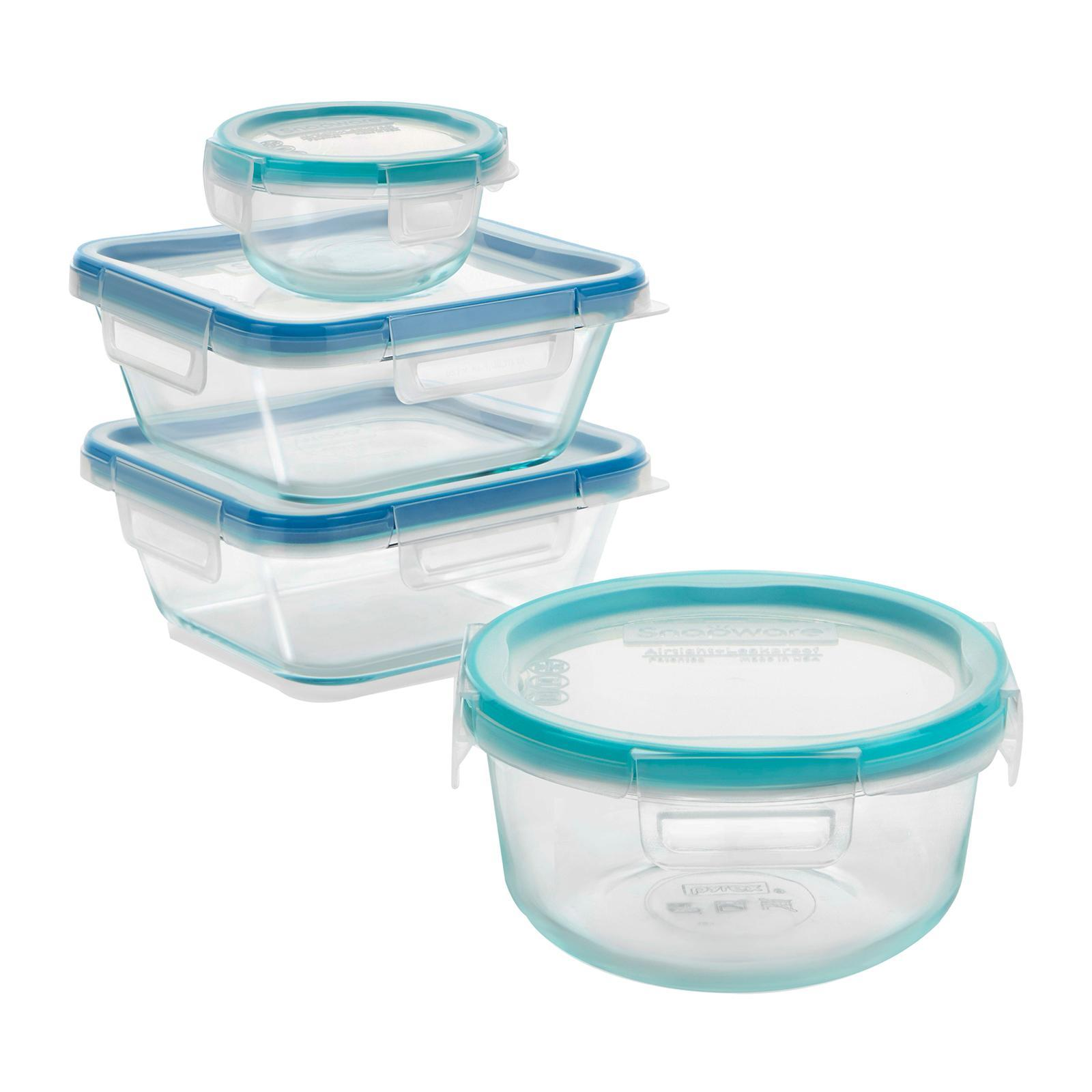 Snapware Snapware Total Solution 8 PCS Glass Storage Set